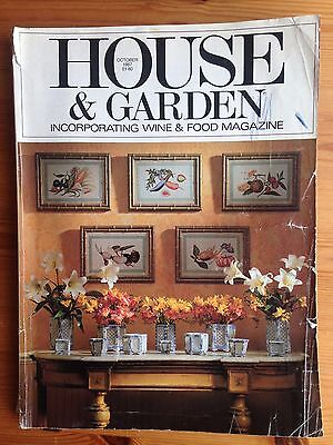 House & Garden Magazine October 1987