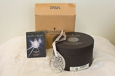 Waterford Crystal Times Square Ball Christmas Tree Holiday Decor Ornament 2008