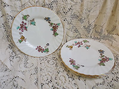 Vintage  Minton England Vermont China Bread & Butter Plates (Set of 4)