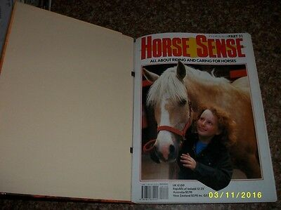 Horse Sense Part 31To 45 Includes Binder