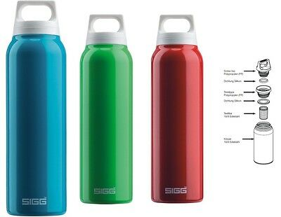 Sigg Thermo Hot & Cold * Isolierflasche * 0,5 Liter - In 2 Farben - Neu