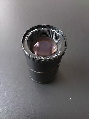 Pentacon AV 2,8/100 2.8 100 projection lens Diaplan Trioplan