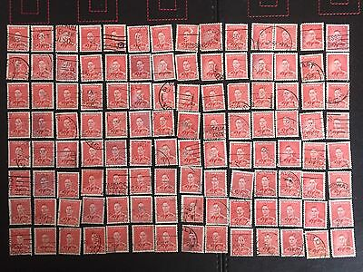 Australia 1937 SG206/184 - 2d. Red  x 100 Stamps