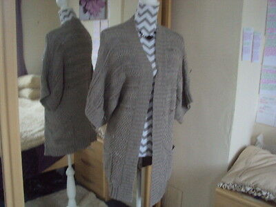 MONSOON Ladies Impressive Lace Knitted Cardigan**Size 12-14 M