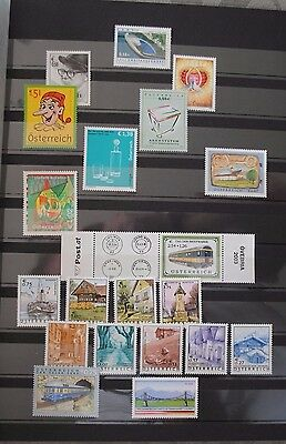 Austria Oostenrijk 2003 Complete Year Set incl. sheets MNH**