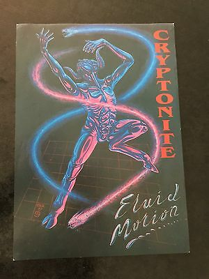 Rave Flyers Cryptonite 1991