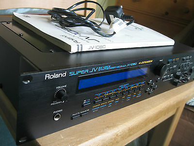 Roland JV 1080 Synth Sound Module Very Good Condition