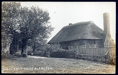 Old Clergy House, Alfriston, Sussex. Unused. Real Photo.