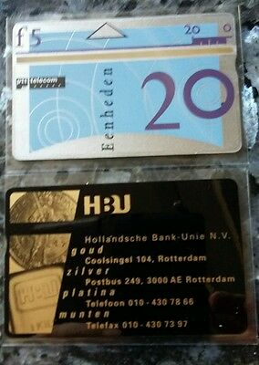 Rare Pays-Bas Hollande - HBU Lingot or