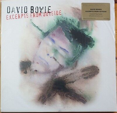 Rare David Bowie Outside Excerpts LP by Music on Vinyl 180gram 13 Tracks MINT