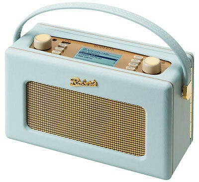 Roberts Revival ISTREAM2 Duck Egg Blue WiFi Internet DAB/DAB+/FM Portable Radio