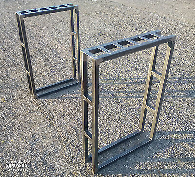 Industrial Style Console Table Legs. (Vintage, Rustic, Retro)
