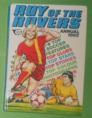 Roy Of The Rovers Comic Football  Annual 1982