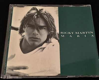 Exclusive Very Rare Brazil Promo Cd Single Ricky Martin Maria (Limited Copies)