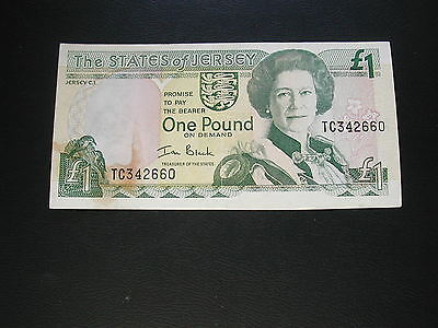 Jersey One Pound Banknote 2000 / Good Condition