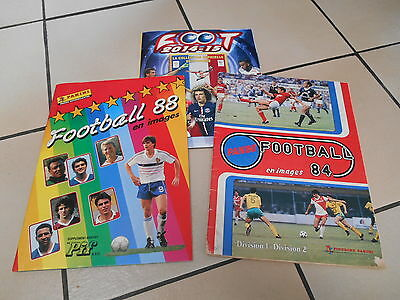 Panini - Foot 1984 1988 2015 (Pas Complet)