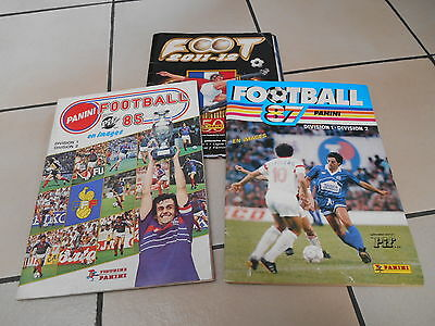 Panini - Foot 1985 1987 2012 (Pas Complet)