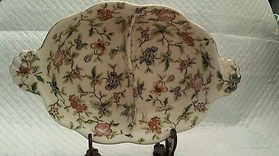 Antique Candy Dish Handpainted Japan