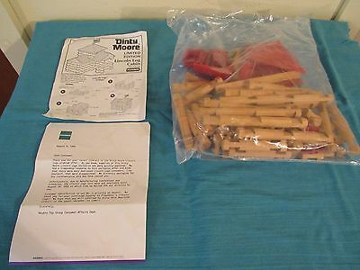 Playskool Lincoln Logs Limited Edition Dinty Moore Lincoln Log Cabin 1994 1995