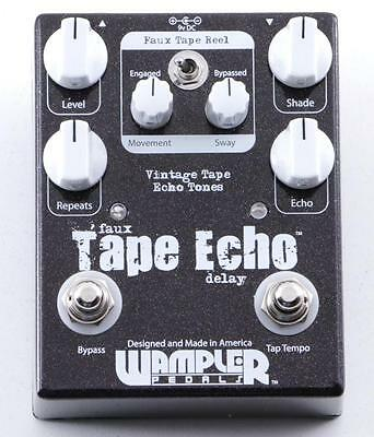 Wampler Faux Tape Echo Delay Guitar Effects Pedal PD-2759