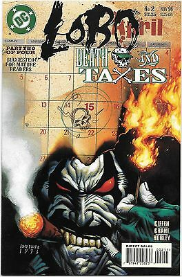 Lobo #2 Death and Taxes (1996) #2 UNREAD!  (NM/MT)