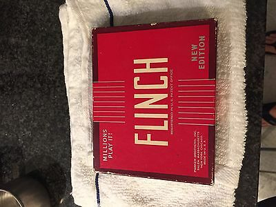Vintage Flinch card game from Parker Brothers