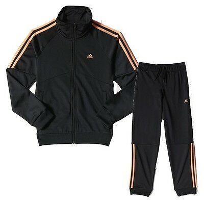 Adidas 3 s poly suit junior girl 9-10 years