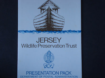 Jersey Wildlife 1971 Presentation pack in good condition