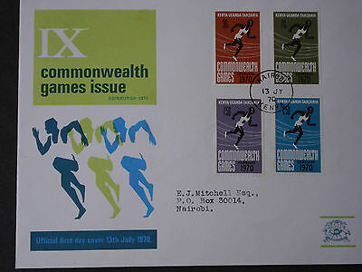 Commonwealth Games FDC of 13 July 1970 in good condition