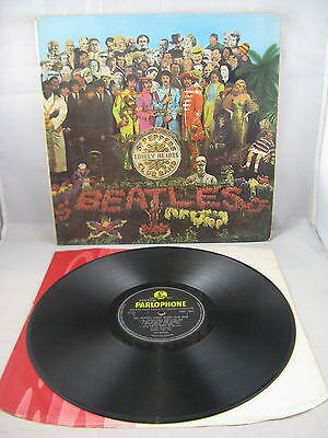 """The Beatles - """"sgt Peppers Lonely Hearts Club Band"""" - Mono First Uk Issue - Ex"""