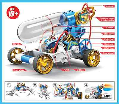 Air Powered Car Technology Science and Construction Toy