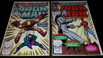 Iron Man #251 and #252 - Acts Of Vengeance