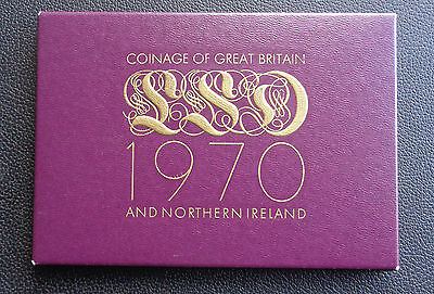 Mint Coinage of Great Britain 1970 proof set with Certificate