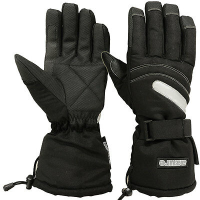 Winter Sailing Gloves Waterproof Full Finger Black, Extra Large