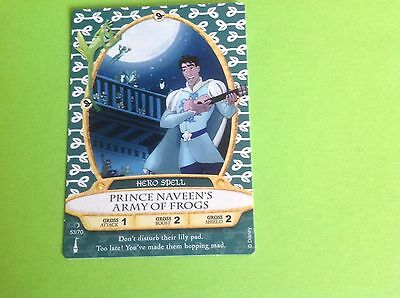 WALT DISNEY SORCERERS of the MAGIC KINGDOM CARD # 53 PRINCE NAVEEN'S ARMY OF FRO