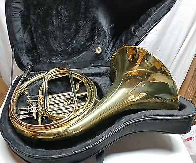 Used - Roy Benson - HR-302 - Brass French Horn, with Nice Black Portable Case