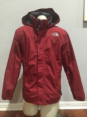 The North Face Youth Boys Red Hyvent Jacket Sz L