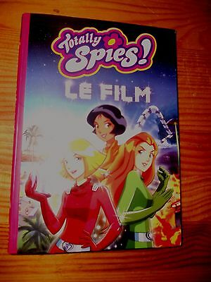 Livre Bibliotheque Rose Totally Spies - Le Film