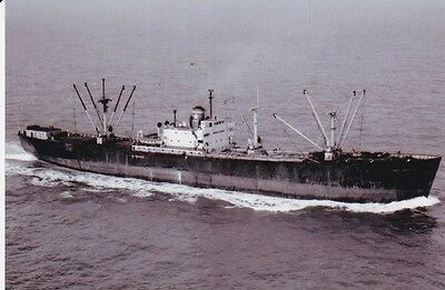 USA American-Foreign Liberty type steamer AMERICAN EAGLE (built 1944) photograph