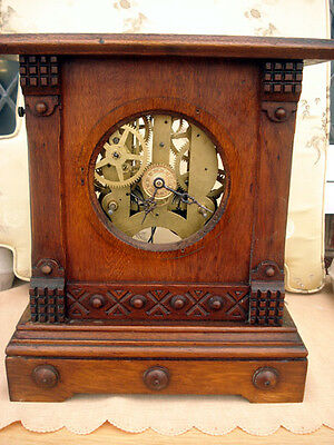 Clock Case and Mechanism