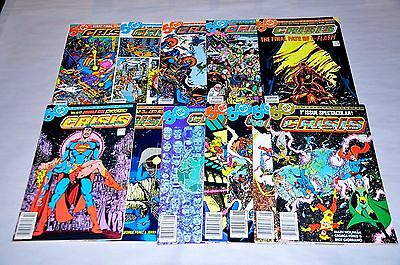 Crisis On Infinite Earths 1-12 Complete Run Superman Capital City Collection