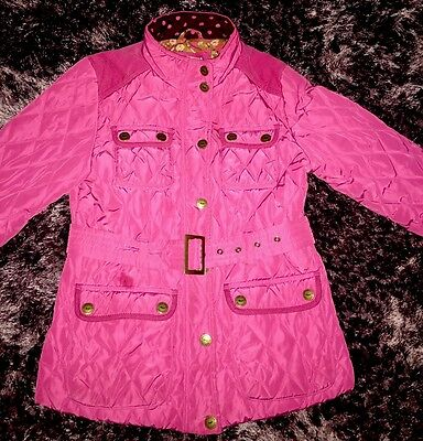 Girls Pink Next Winter Coat Age 11-12 Years