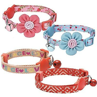 Blueberry Pet Pack of 1 Neck 23cm-33cm Love Peace Rescue Theme Pattern Adjust...