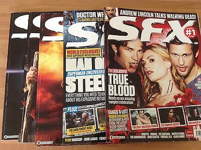 Sfx magazine 2012 issues x 5 Jan, Feb, March, April, May