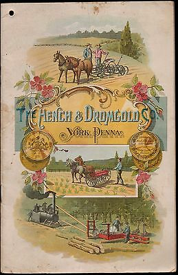 1902 Catalog, Hench & Dromgold, Saw Mills, Steam Engines, York, PA