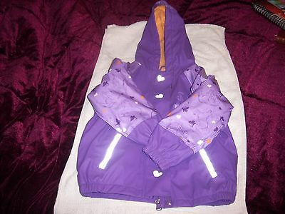 Childs Hooded Coat,trouser, Hat 2/4 Years