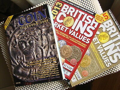 Coin Yearbook 2008 + British Coins Market Values 2013 & 2015.