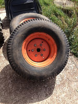 Kubota Compact Tractor Rear Turf Wheels And Tyres