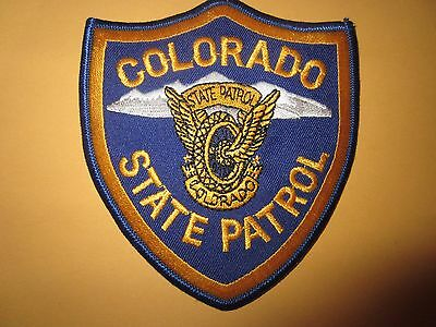 Collectible Colorado State Patrol Police Patch New
