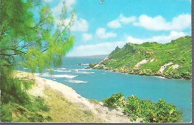 Cove Bay, St. Lucy, Barbados - postcard stamp 1988